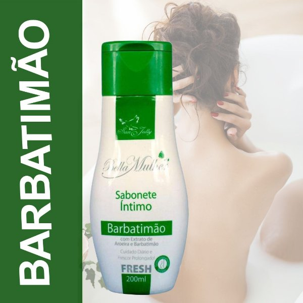 Sabonete Íntimo Barbatimão 200ml San Jully
