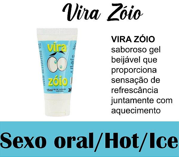 VIRA ZÓIO LUBRIFICANTE HOT ICE 15ML SECRET LOVE (VEG44)