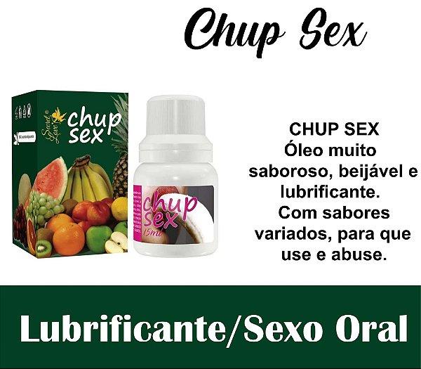 CHUP SEX ÓLEO COMESTÍVEL 15ML SALADA DE FRUTAS (VEG26)