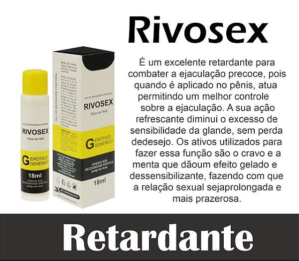 RIVOSEX RETARDA EJACULAÇÃO 18ML SECRET LOVE(VEG50)