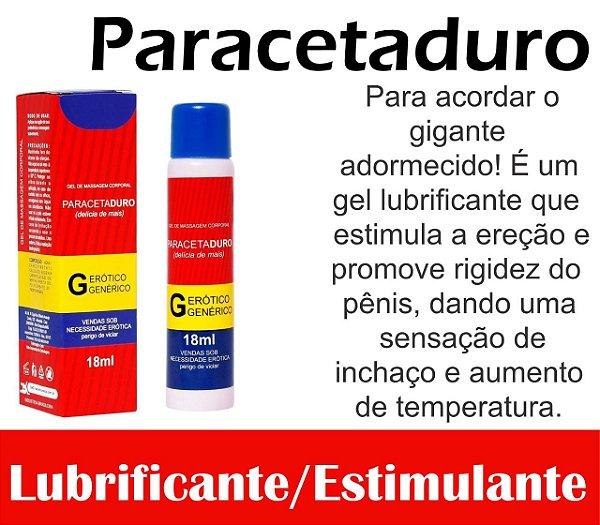 PARACETADURO EXCITANTE MASCULINO 18ML SECRET LOVE(VEG56)