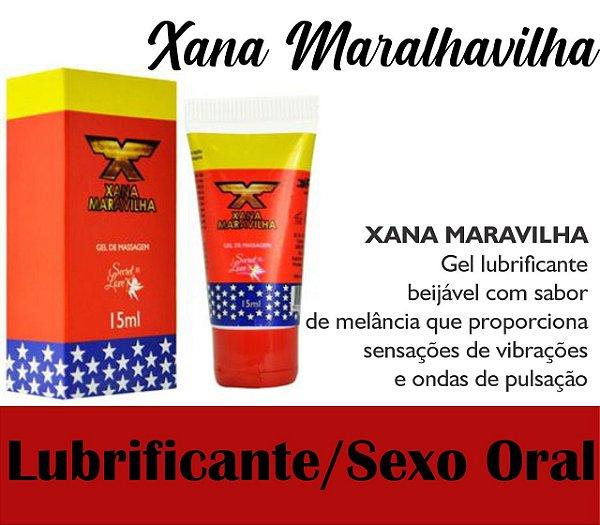 XANA MARAVILHA EXCITANTE 3 EM 1 15ML SECRET LOVE(VEG59)