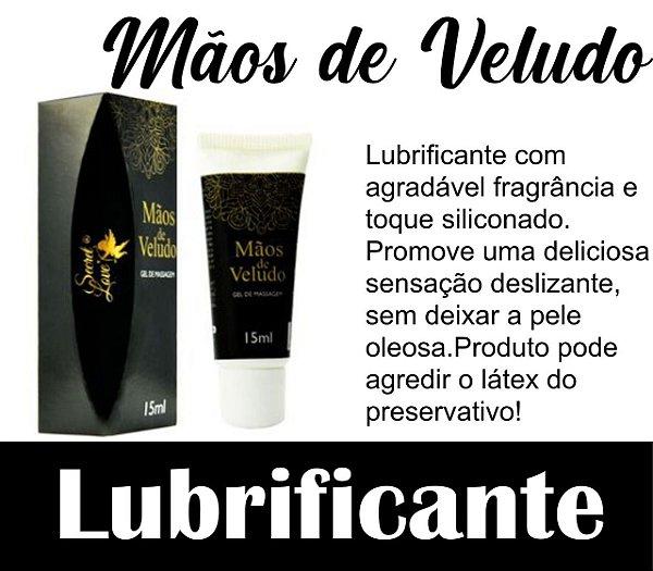 MÃOS DE VELUDO GEL SILICONADO 15ML SECRET LOVE(VEG67)