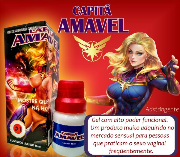CAPITÃ AMAVEL  15 ML  (SED43)