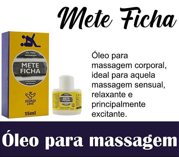 ÓLEO LUBRIFICANTE METE FICHA 15 ML(VEG78)
