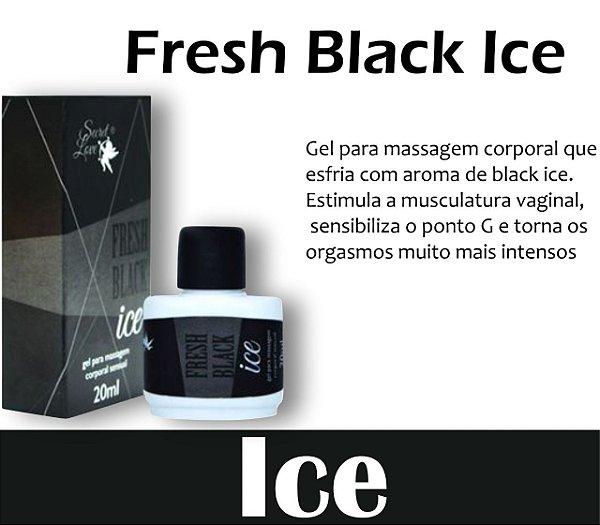 FRESH BLACK ICE GEL UNISSEX 15ML SECRET LOVE(VEG85)