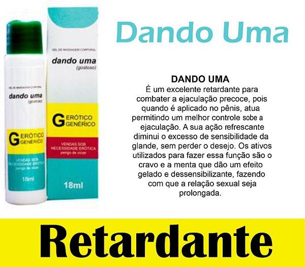 DANDO UMA RETARDA EJACULAÇÃO 18ML SECRET LOVE(VEG89)