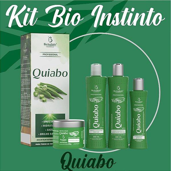 Kit Bio Instinto Quiabo