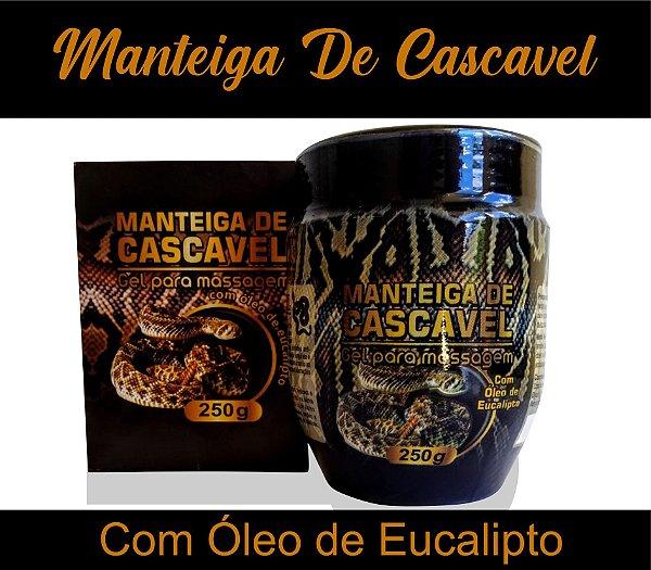Gel Para Massagem Manteiga De Cascavel 250g