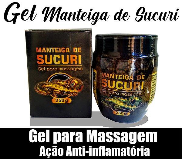 Gel para massagem Manteiga de Sucuri 250g