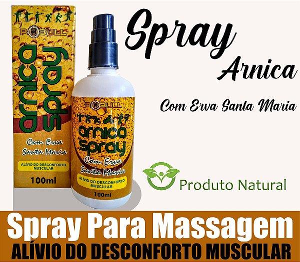 Massageador Spray Arnica com Erva Santa Maria 100ml