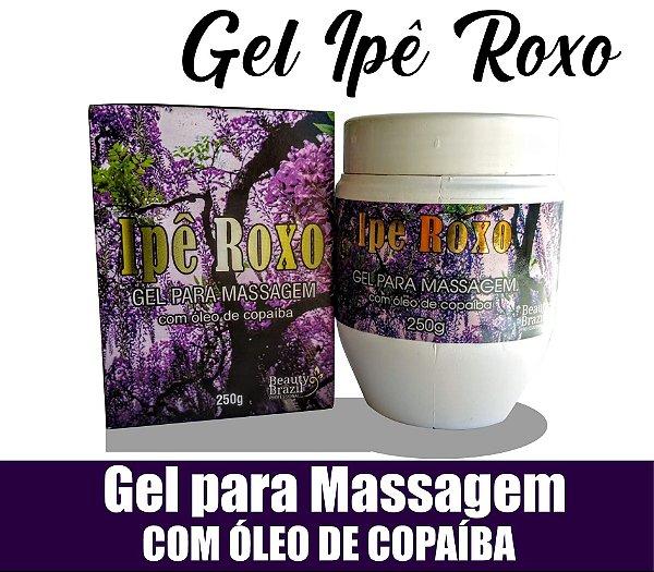 Gel Para Massagem Ipê Roxo 250g