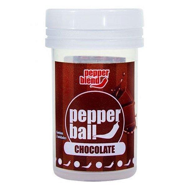 Bolinha Explosiva Comestível Pepper Ball 2 Unid Pepper Blend Chocolate