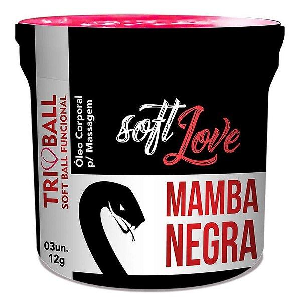 Bolinha Funcional Mamba Negra Triball Soft Love
