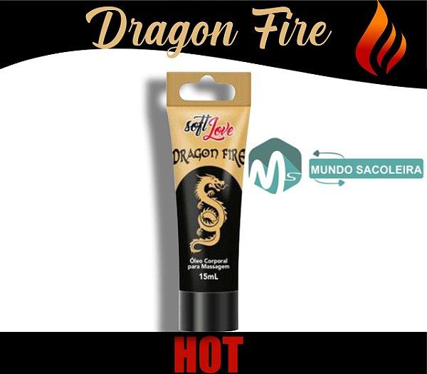 Excitante Unissex Dragon Fire Bisnaga 15ml Soft Love