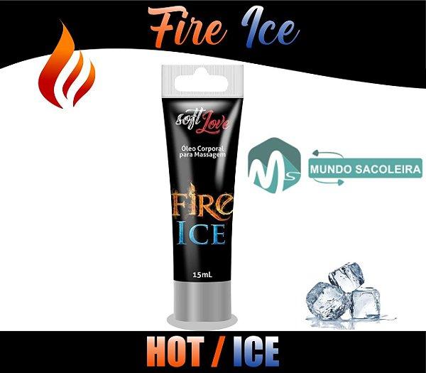 Excitante Fire & Ice Bisnaga 15ml Soft Love