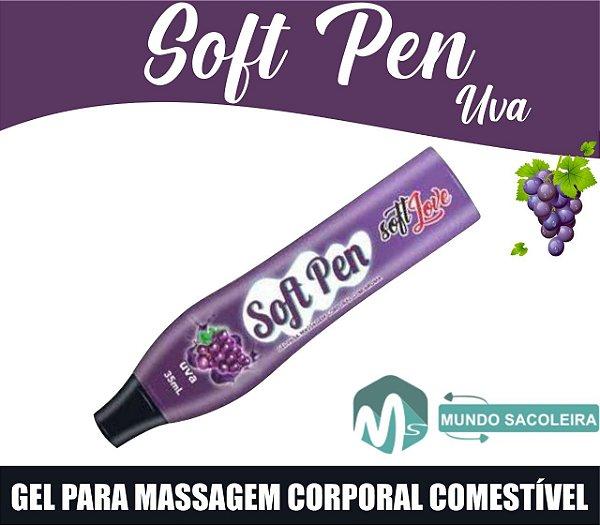 Caneta Comestível Soft Pen 35ml Soft Love UVA