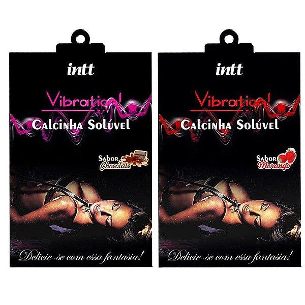 Calcinha Comestível Vibration Intt CHOCOLATE