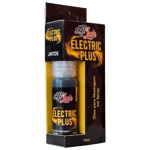 Jato Funcional Eletric Plus Vibrador Líquido 15ml Soft Love