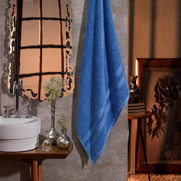 Jogo de toalhas - banhão e rosto -  Karsten -  Egipto Classic (Azul Cósmico)- 2 peças - Gramatura: 530 g/m²