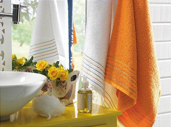 Jogo de Toalhas de Banho Casa In (Karsten) Colorê 2 Peças
