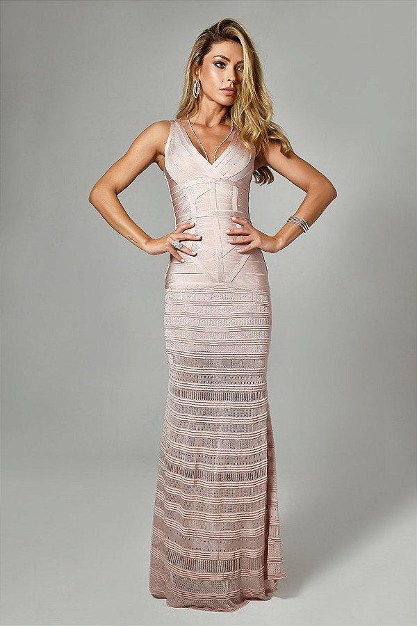 Vestido Longo Jasmine Rosê