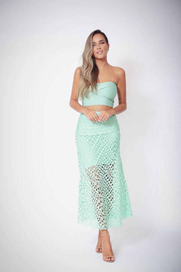 Top Cropped Bia Verde Jade