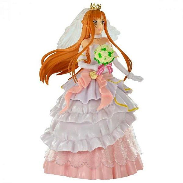 Asuna Sword Art Online Wedding EXQ Figure Banpresto