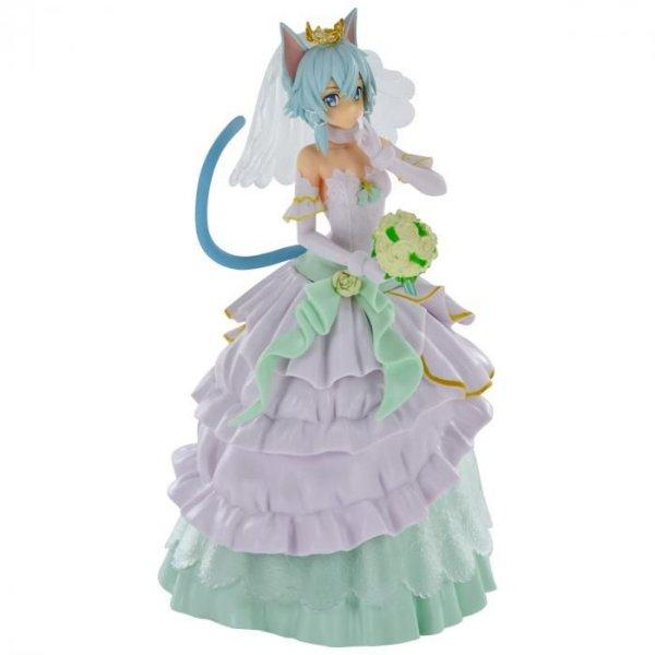 Sinon Sword Art Online Wedding EXQ Figure Banpresto
