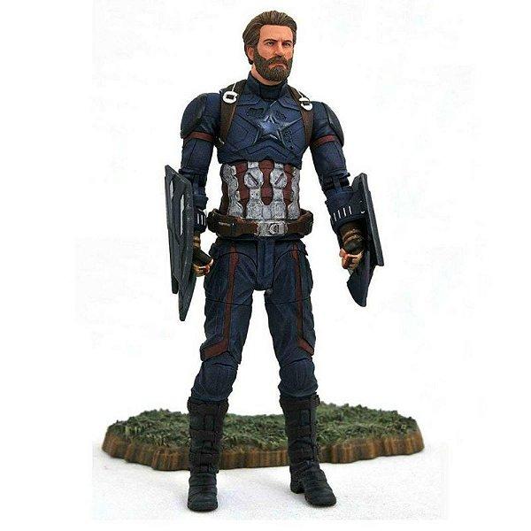 Captain America - Marvel Select Avengers Infinity War Diamond Select Toys