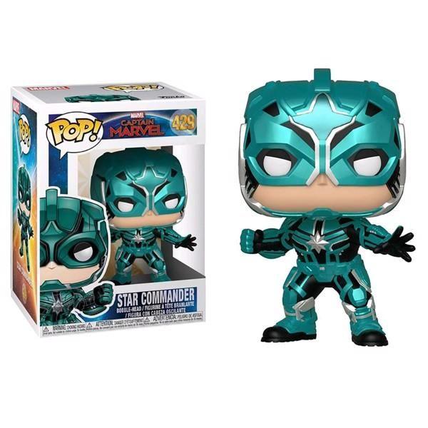 Star Commander - Marvel Captain Marvel Funko Pop