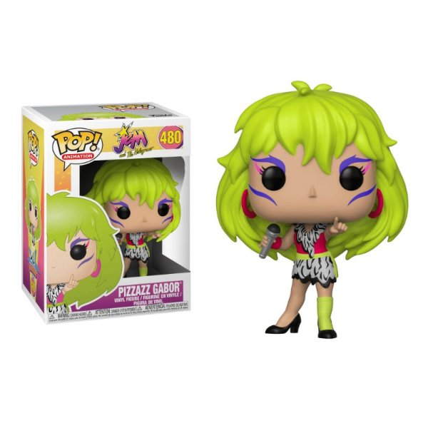 Urânia Pizzazz Gabor - Jem and The Holograms Funko Pop Animation