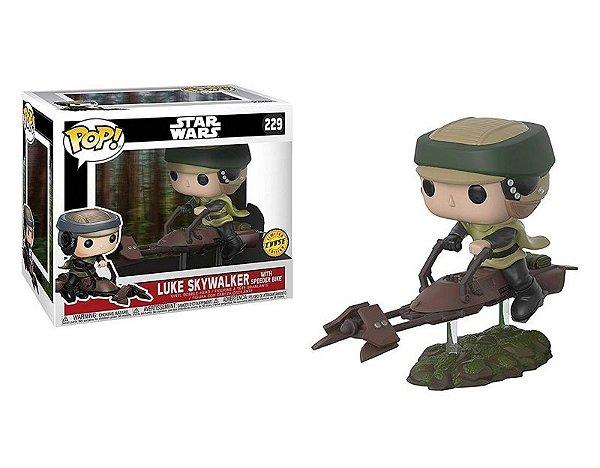 Princesa Leia - With Speeder Bike Star Wars Funko Pop Chase