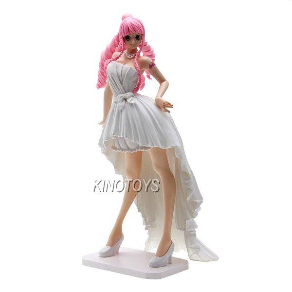 Perhona Noiva Branca - One Piece Lady Edge Wedding Banpresto