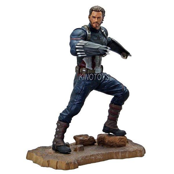 Captain America - Marvel Gallery Avengers 3 PVC Statue Diamond Select