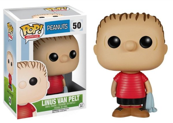 Linus van Pelt - Peanuts Funko Pop Animation