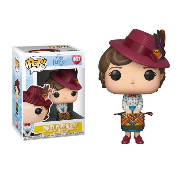 Mary Poppins with Skirt Bag - Mary Poppins Returns Funko Pop