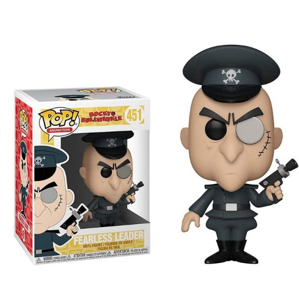 Fearless Leader - Rocky & Bullwinkle Funko Pop Animation