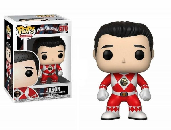 Jason - Red Ranger Power Rangers Funko Pop Television