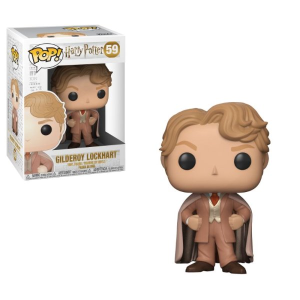 Gilderoy Lockhart - Harry Potter Funko Pop