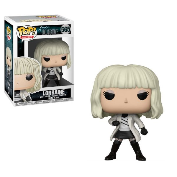 Lorraine White Coat - Atomic Blonde Funko Pop Movies