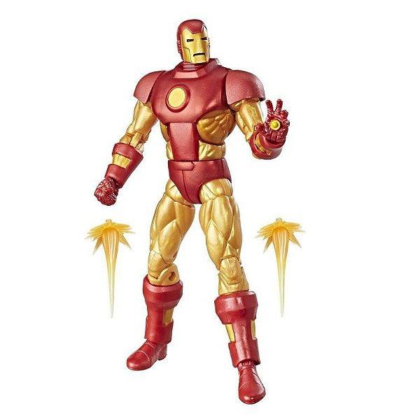 Homem de Ferro - Iron Man Marvel Legends Vintage Retro Hasbro