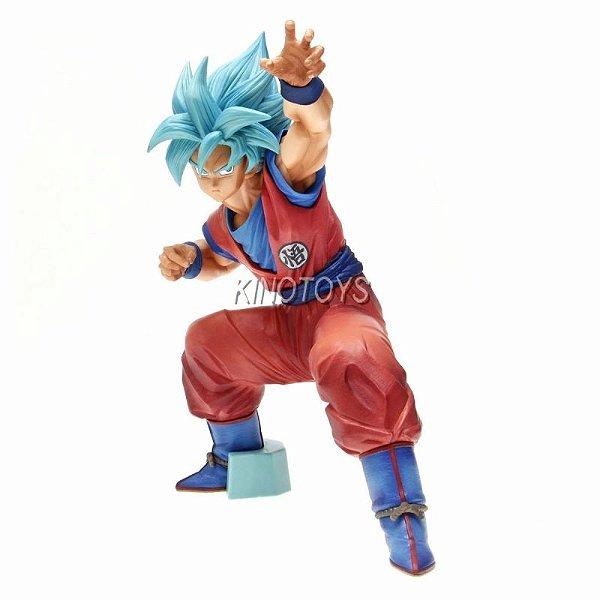 Goku Blue Big Size - Dragon Ball Super Banpresto
