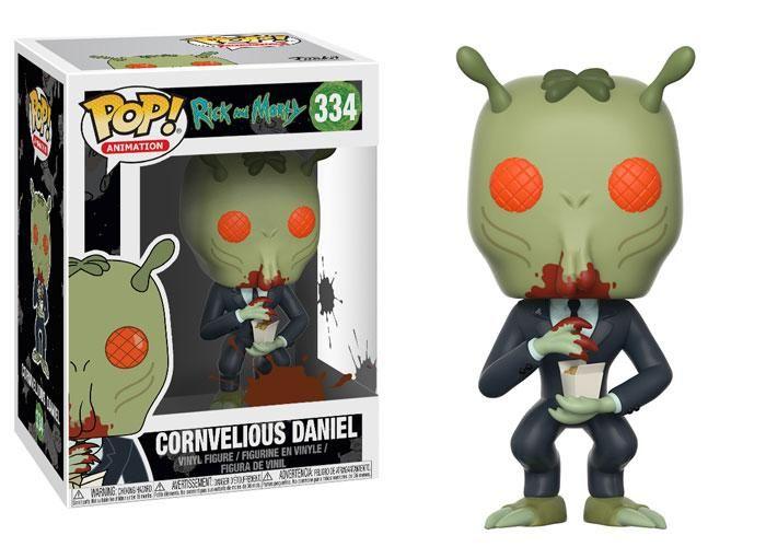Cornvelious Daniel - Rick and Morty Funko Pop Animation