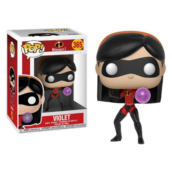 Violet - Disney Os Incríveis 2 The Incredible Funko Pop