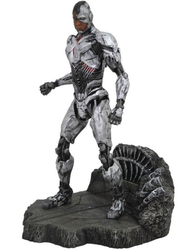 Cyborg - DC Comics Justice League Movie DC Gallery Liga da Justiça Diamond Select