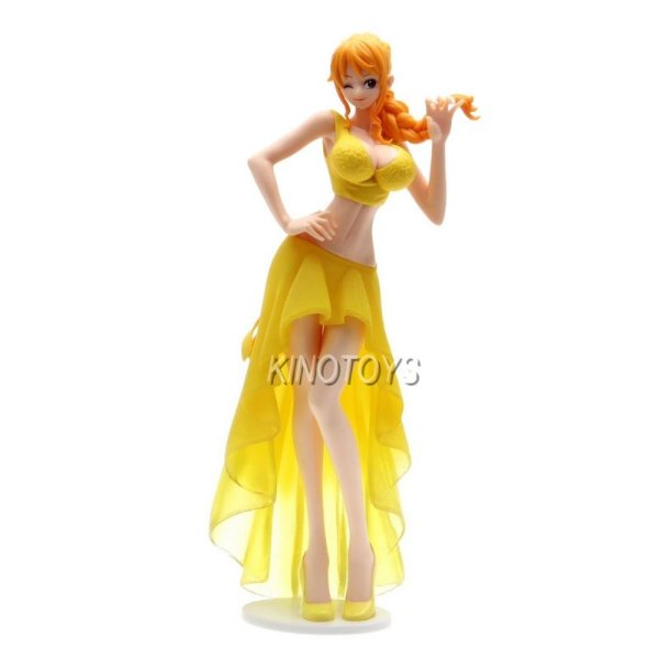 Nami Noiva B - One Piece Lady Edge Wedding Banpresto