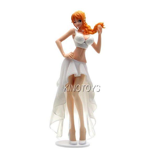 Nami Noiva A - One Piece Lady Edge Wedding Banpresto