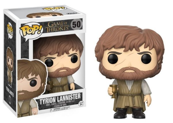 Tyrion Lannister - C/ Beard & Chalice Game Of Thrones Funko Pop