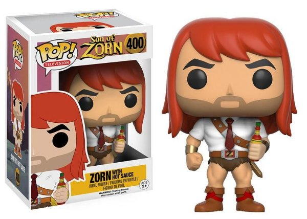 Zorn with Hot Sauce - Son Of Zorn Funko Pop Television